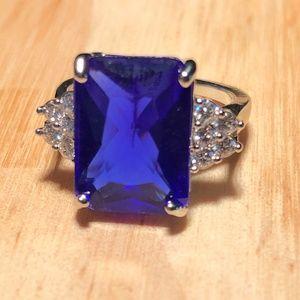 Jewelry - Simulated Sapphire Birthstone Ring